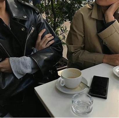 Aesthetic Coffee Brown Couple Academia Spotify Friends