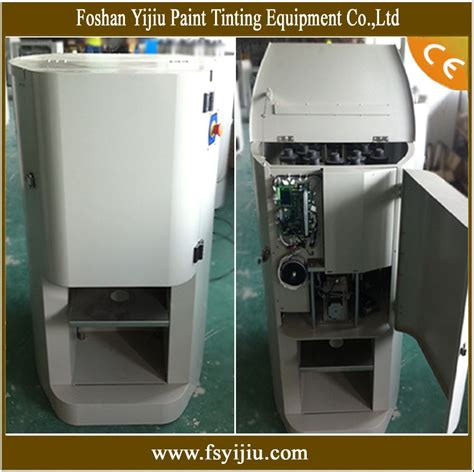 paint machine paint color mixing machine view