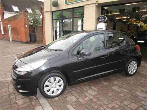 Peugeot 2007 57 207 1.4 S 5 Door Hatch Black Low Insurance
