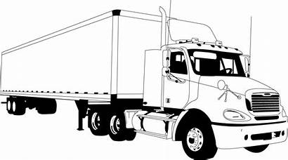 Tractor Trailer Clipart Trailers Cliparts Svg Paintings