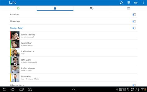 lync 2013 for android lync 2013 android apps on play