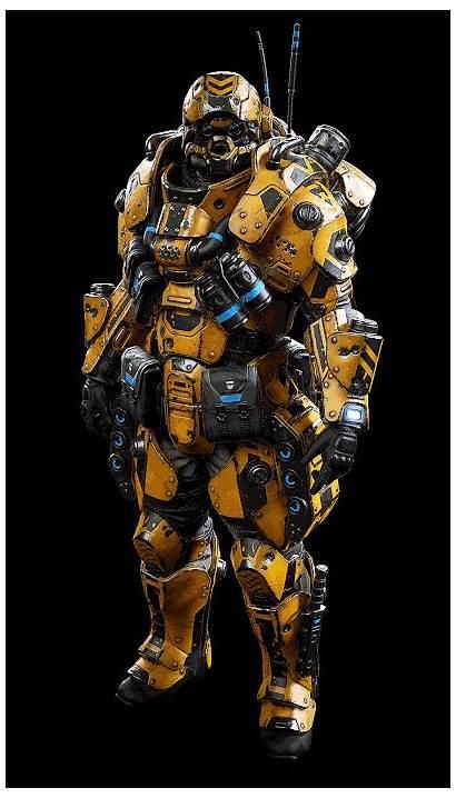 Armor Armour Arena Future Planetside Artstation Concept