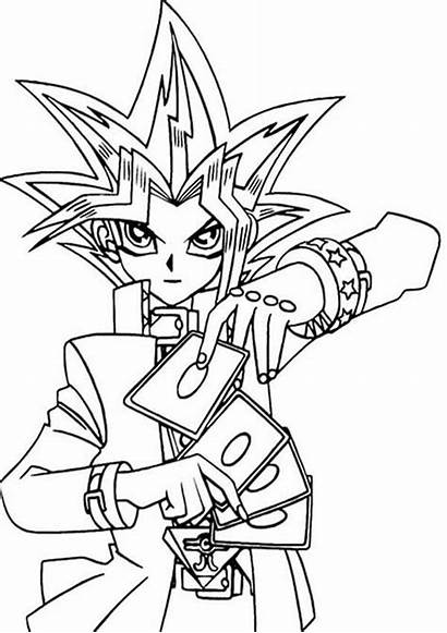Yu Gi Oh Coloring Pyramid Pages Yugioh
