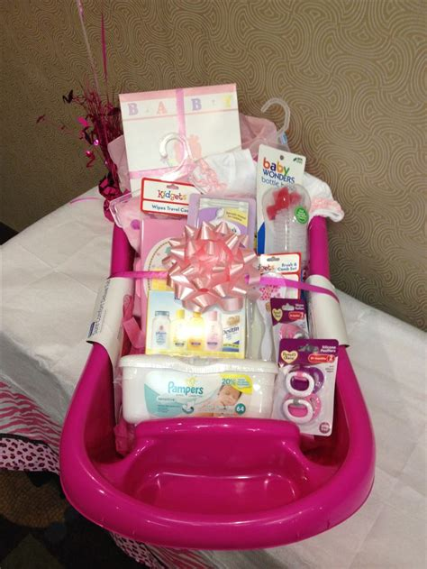 baby shower gifts for baby shower gift basket idea baby girl gift idea