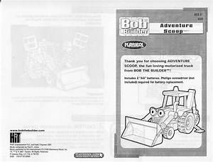 Hasbro Bob The Builder Adventure Scoop Instructions