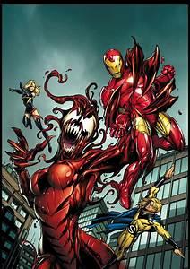 #Carnage #Fan #Art. (Mighty Avengers vol 1) By: Mark ...