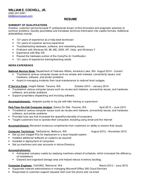 bill cochell resume