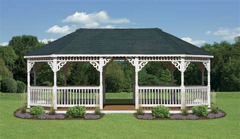 pictures of a gazebo vinyl oval gazebos north country shedsnorth country sheds