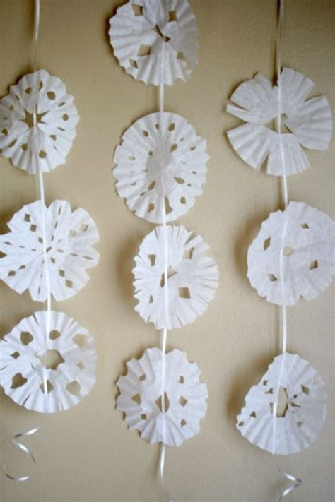 easy diy coffee filter crafts noted list