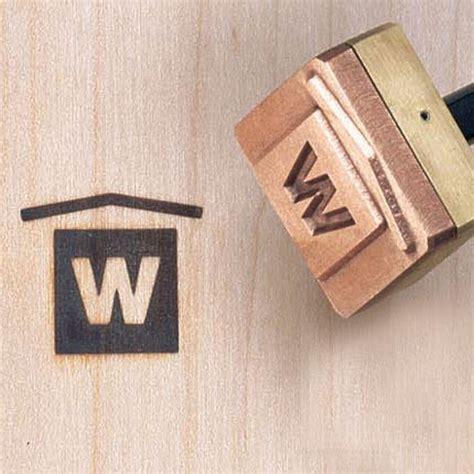 logo branding iron electrically heated