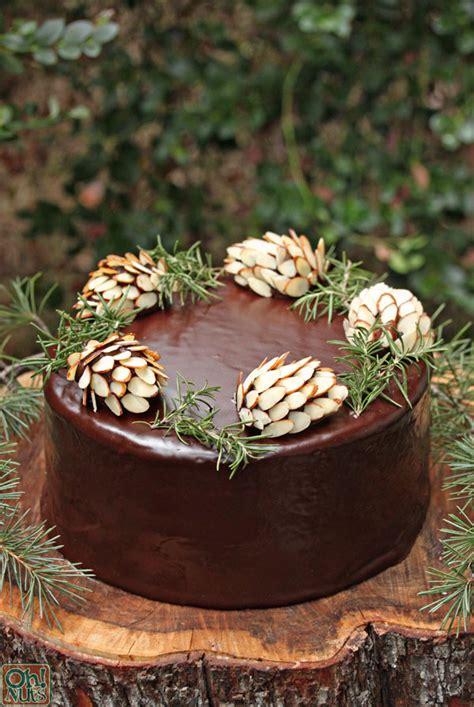 chocolate pine cones  nuts blog