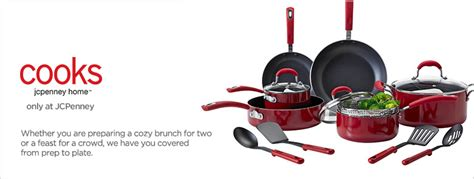 cooks  jcpenney home cookware bakeware jcpenney
