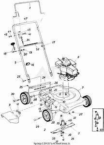 Mtd 11053s  1985  Parts Diagram For Rotary