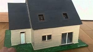 comment faire une maquette de maison en carton segu maison With maquette de maison facile a faire
