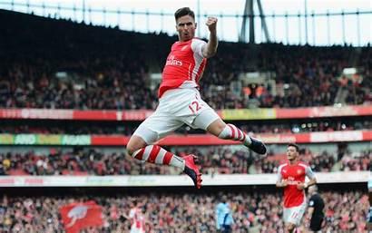 Arsenal Fc Giroud Football Olivier Ozil Club