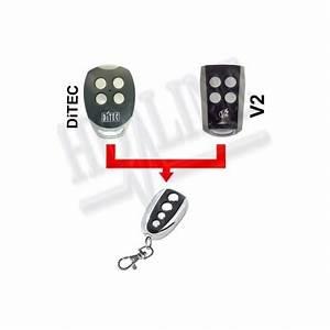 ditec v2 telecommande universelle 433 mhz porte de With telecommande universelle porte de garage