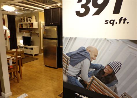 studio apartment under 400 sq ft photos see inside ikea s tiny 391 sq ft model apartment