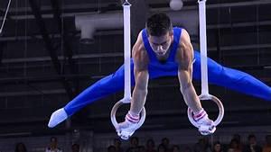 Men's Rings Final - Artistic Gymnastics - Singapore 2010 ...  Gymnastics