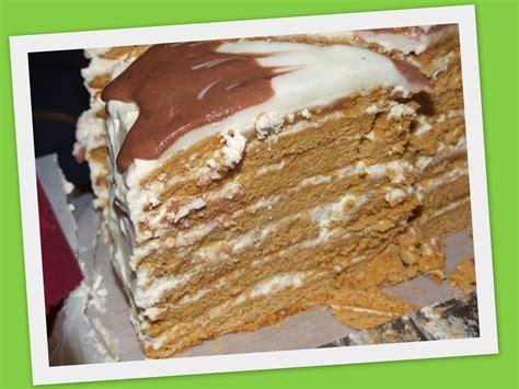 manasreceptes: Medus kūka.