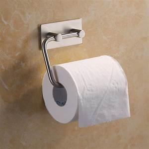 Bathroom, Self, Adhesive, Toilet, Paper, Holder, Stainless, Steel, Tissue, Paper, Roll, Towel, Storage, Rack