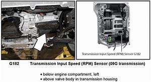 Volkswagen Jetta 2 5  Location Of Trans  Output Speed Sensor