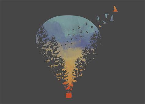 Flying Far Far Away by HeyAle   Threadless