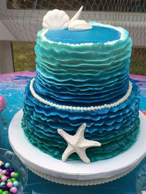 mermaid birthday cake  mermaid birthday