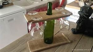 Support Verre à Vin : support palettes vin verres et sa planche d couper palettes co ~ Teatrodelosmanantiales.com Idées de Décoration