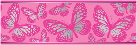 butterfly 7 inch wallpaper border 5m