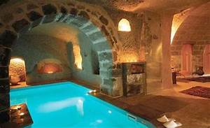 Basement Indoor Pool 2 - grotto | Boarding House ...