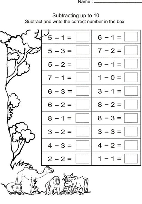 printable grade  math worksheets activity shelter