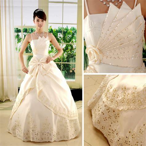 koleksi gaundress pengantin pesta wedding dress korean