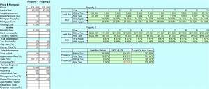 Second Mortgage Template Real Estate Investment Return On Investment And Cash Flow