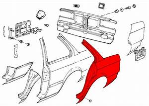 Bmw 3-series E30  1983-1991  - Chassis Panels  U0026 Sheet Metal