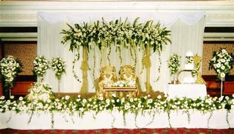 christian marriage stage decoration