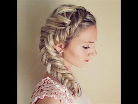 dutch fishtail braid elsa hair youtube