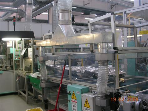 extraction cuisine restaurant extraction of mastic sealant steams industrial air