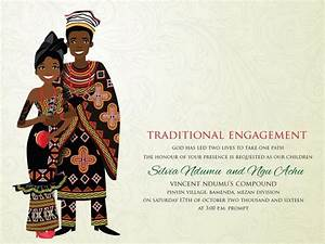 10 african wedding invitations designed perfectly With african traditional wedding invitations templates