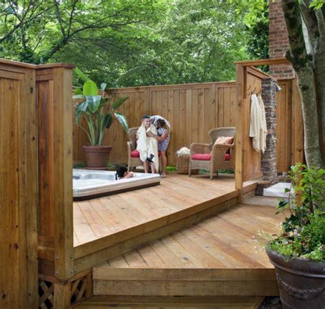 panneau bois jardin choisissez un panneau occultant de jardin archzine fr