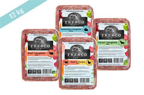 fresco fertigbarf vorteilspaket kg frescodog dein