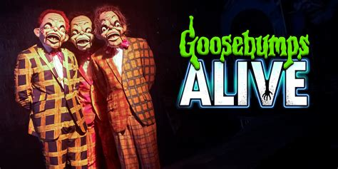 Goosebumps Alive At The Vaults, London  Review The