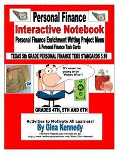 personal financial literacy 5th grade task cards 5 10a taxes sales tax a well and