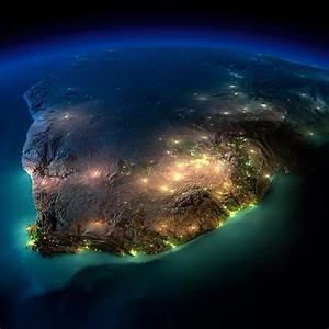 23+ Beautiful Night View Images Of Earth From Space