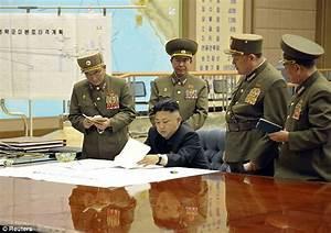 North Korea war room photos show Kim Jong-Un plotting to