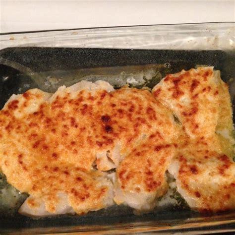 grouper parmesan broiled recipe allrecipes