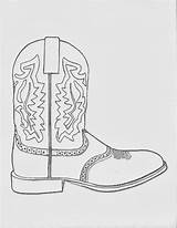 Cowboy Coloring Boot Boots Pages Cowgirl Western Printable Sketch Dancing Drawing March Hats Sheets Sketches Clipart Paintingvalley Fr Google sketch template