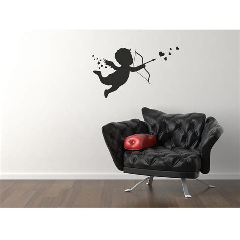 stickers high pour chambre stickers muraux pour chambre sticker cupidon ambiance