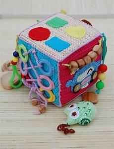 Activity Spielzeug Baby : crochet educational toy car baby activity cube soft ~ A.2002-acura-tl-radio.info Haus und Dekorationen