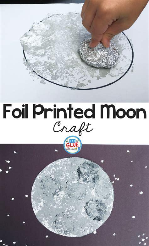 foil printed moon craft 960 | Foil Printed Moon Pinterest