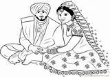 Punjabi Sikh Couple Clipart Dot Worksheet Connect Sikhism Dots Printable Coloring Folk Cliparts Pdf Pencil Favorites sketch template